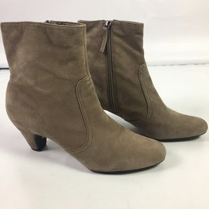 Sam Edelman Womens Maddie Boots Booties Tan 8.5